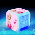 Pink-Magic-Elsa-wekker-reveil-LED-7-Color-Flash-Digital-Alarm-Clock-Movie-Princess-Anna-Elsa